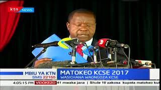 Mbiu ya KTN: Matokeo ya KCSE 2017
