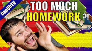 Are Teachers Giving Too Much Homework? || Homework Is A Waste Of Time!
