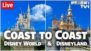 🔴Live: Coast to Coast Walt Disney World & Disneyland Live Stream - 2-16-20