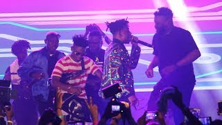 Lil Kesh, Zlatan, Chinko Ekun & Mayorkun Performs Able God At Mayor Of Lagos 2018