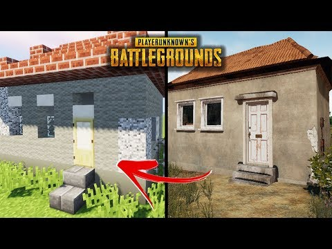 Minecraft how to build a pubg house 4 player unknown for Classic house tutorial