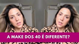 A make é diferente aos 40 anos?