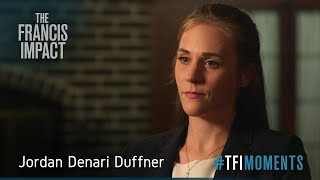 <strong>#TFImoments:</strong> Jordan Denari Duffner and the pope's outreach to non-Catholics