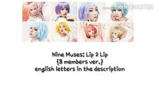 Nine Muses (나인뮤지스) - Lip 2 Lip [8 members ver.]