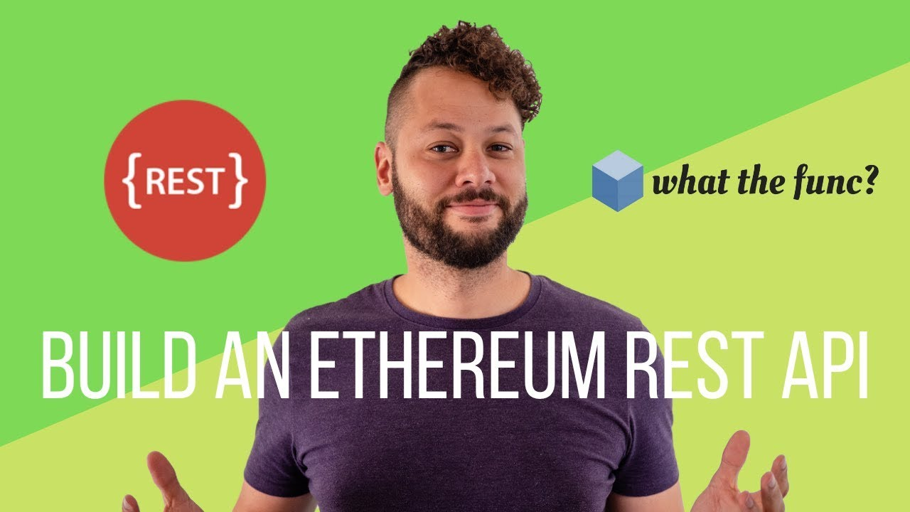 Build an Ethereum REST API