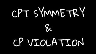 CPT symmetry and CP violation. Why energy and momentum are conserved?