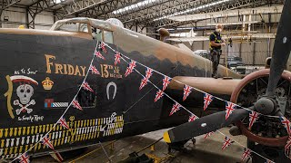 video: Watch: How a famous WWII bomber was brought back to life