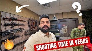 SHOOTING REAL GUNS IN LAS VEGAS🔥🔥🔥