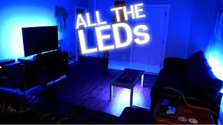 Pimping Out My House With RGB LEDs!