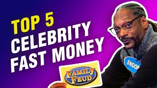 Top 5 most-viewed Celebrity Family Feud Fast Money rounds with Steve Harvey!