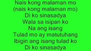 Fixing A Broken Heart(tagalog Version) Di Ko Sinasadya