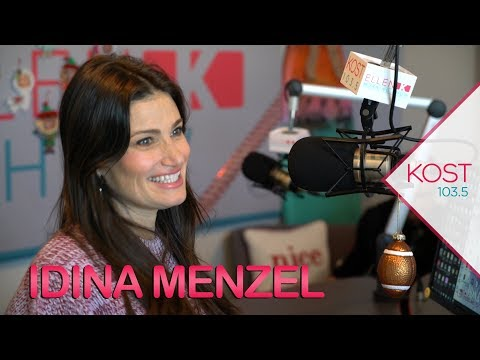 Idina Menzel Talks 'At The Table', What Walker Wants For Christmas, Working With Adam Sandler & More