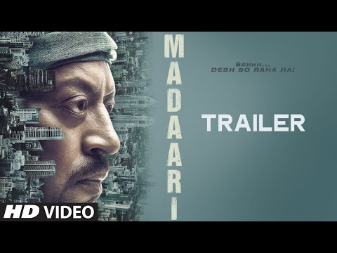Madaari Trailer  Irrfan Khan