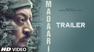 MADAARI Official Trailer 2016  Irrfan Khan Jimmy Shergill  TSeries