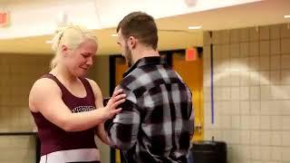 Valentine's Day Wrestling Proposal