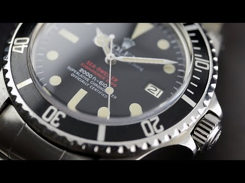 Rolex Double Red Sea-Dweller, Rolex Daytona 16520 'Zenith' And More! – This Week's Watches #33
