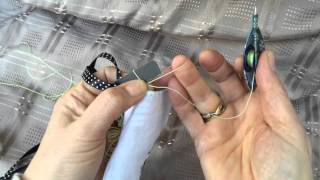 Tatting - Broomstick Lace (Part 1)