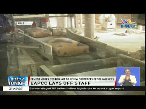 East African Portland Cement Company lays off  520 workers as profits dwindle