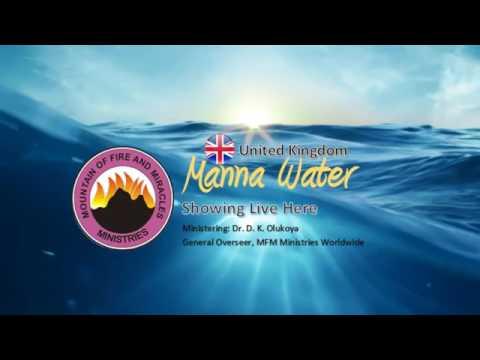 DECEMBER 2016 MANNA WATER PROGRAM PRAYING TO SCATTER COVEN 2 DR. DK OLUKOYA