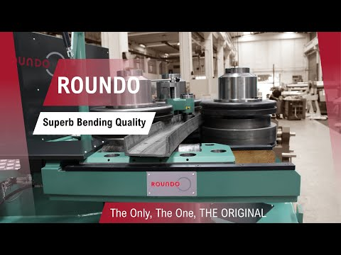 Roundo – Big-capacity CNC controlled angle roll R Series