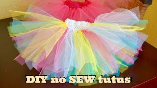 Super Easy No Sew DIY Tutus   24 August 2015   Mommy And Baby Approved