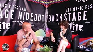 King Princess [Interview] LIVE Backstage At Austin City Limits Music Festival 2019 | 101X