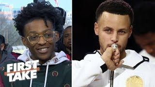 De'Aaron Fox on the Warriors: Any team can be beaten | First Take