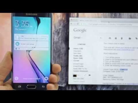 How To Unlock Samsung Galaxy S6 Edge - AT&T / Rogers / Vodafone / Any gsm carrier...