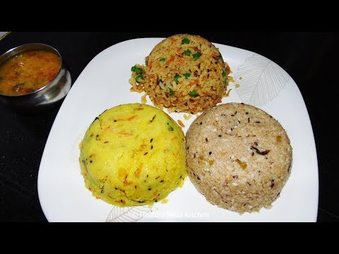 Breakfast Recipes – Breakfast Menu Recipe 4 – Upma Recipes – Wheat Rava Upma Recipe – Poha  Recipes