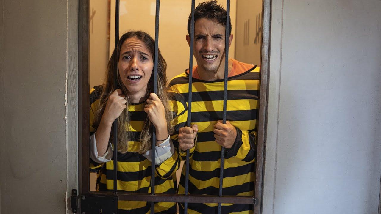 ON EST PRISONNIER AVEC MA SOEUR ! (escape game géant)