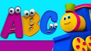บ๊อบรถไฟ | bob เพลงตัวอักษร | ตัวอักษรสำหรับเด็ก | Bob Train Song | Learn Alphabets | ABC Song