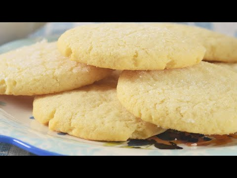 Old Fashioned Sugar Cookies Recipe Demonstration – Joyofbaking.com