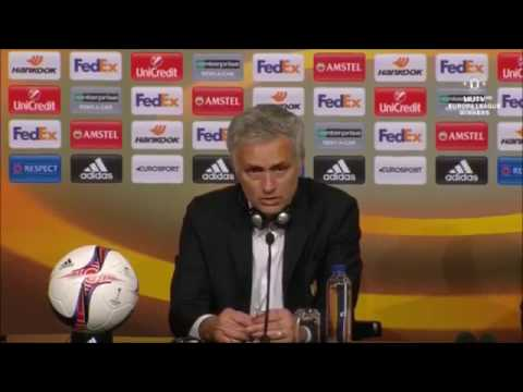 Jose Mourinho Full Post Match Conference   United vs Ajax 2 0