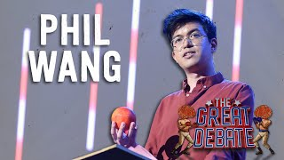 Phil Wang (Affirmative) 3rd Speaker - The 29th Annual Great Debate 2018