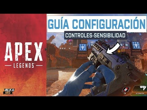 APEX LEGENDS GUÍA CONFIGURACIÓN  en consolas PS4 y XBOX ONE