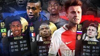FIFA 19 | ТРАНСФЕРЫ И СЛУХИ | ГОЛОВИН, ПОГБА, МАЛЬКОМ и другие