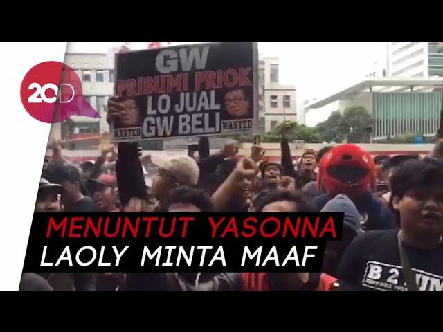 Tanjung Priok Bergerak Menggugat Menkumham Yasonna