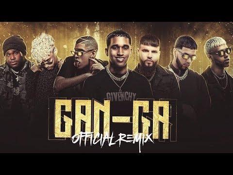 Artistas confirmados para Gan-Ga Remix🔥 (Anuel Aa, Bad Bunny, Jhay Cortez y mas)