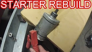 How To   Starter Motor Rebuild