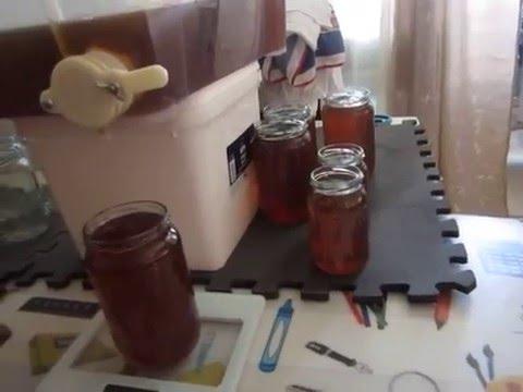пчеловодство . расфасовка мёда в домашних условиях 2016