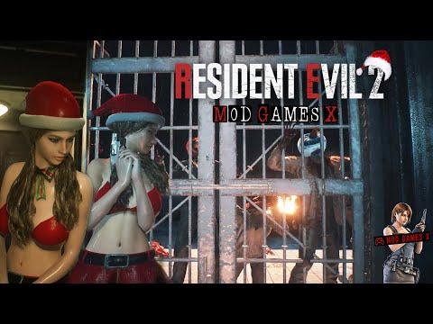 Claire Christmas -  RE2 Mods