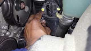 Mercedes Diagnose & Replace Mass Air Flow Sensor