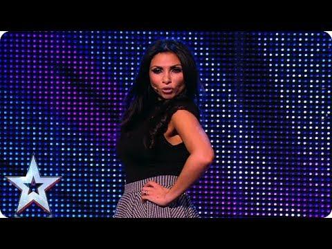 Francine Lewis makes a big impression on the Judges | Britain's Got Talent Unforgettable Auditions
