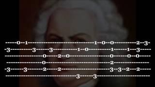 Air on The G String - Guitar Tab