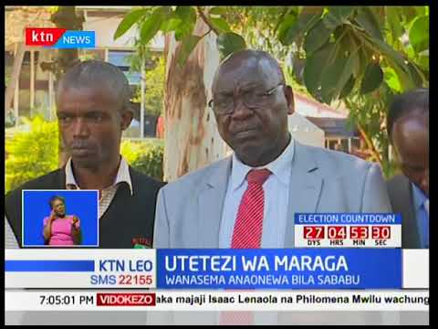 Viongozi na wasomi kutoka jamii ya Wakisii wamtaka Rais Uhuru Kenyatta kuweka bayana msimamo wake
