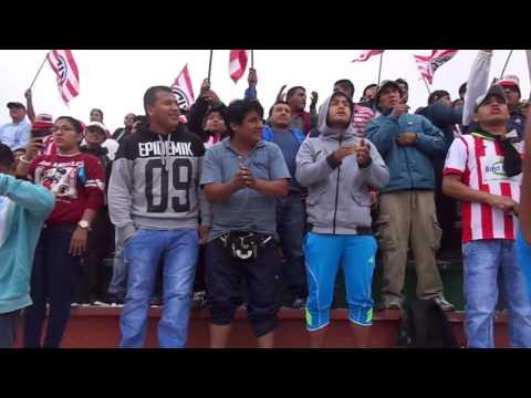"""""""SALIDA DEL UNIÓN HUARAL AL CAMPO DE JUEGO CON LA BANDA DEL PELÍCANO"""" Barra: La Banda del Pelícano • Club: Unión Huaral"""