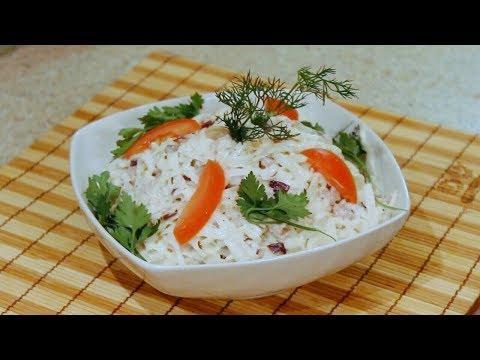"""Салат """"Узбекистан"""" из черной редьки и мяса"""