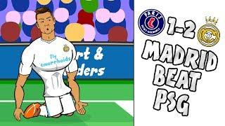 Download Video 🔥REAL beat PSG - Ronaldo scores in 8 UCL GAMES!🔥 (PSG vs Real Madrid 1-2 2-5 Parody Highlights) MP3 3GP MP4