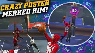99 Contact Dunk With Extra Stamina IS OP! BIGGEST POSTERS YET! NBA 2K19 Park Gameplay