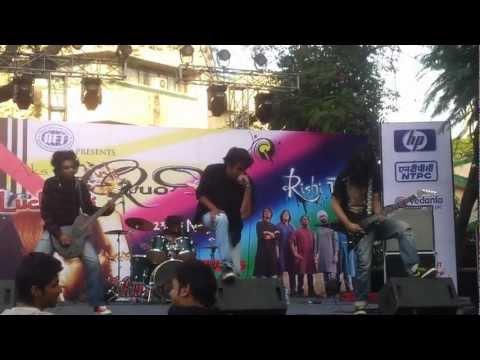 Dark Moon Eternity - Recreant live @ IIFT, Delhi.
